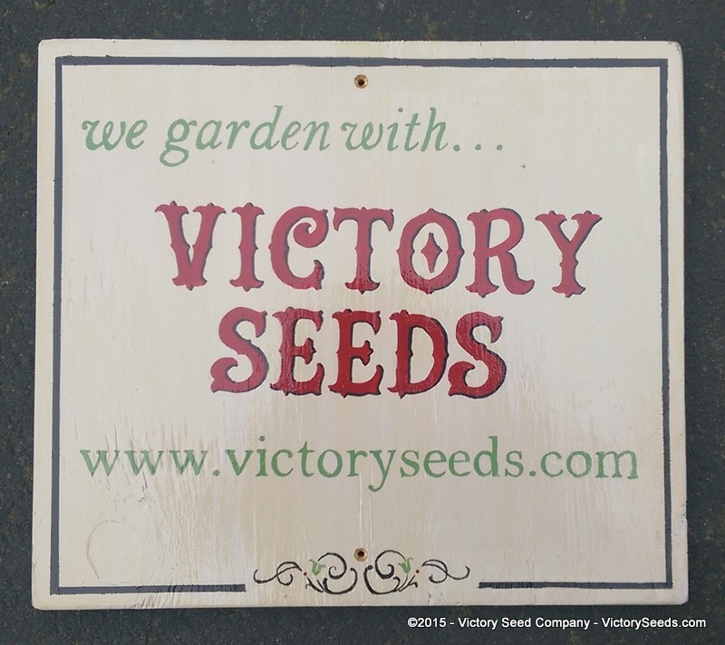 We garden with ... Victory Seeds®