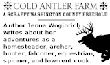 Checkout a young woman's adventures with homesteading adn country living.